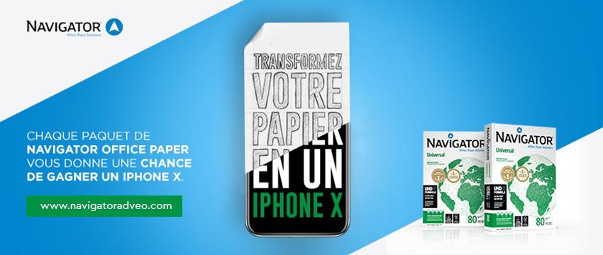 Gagner un iPhone X !
