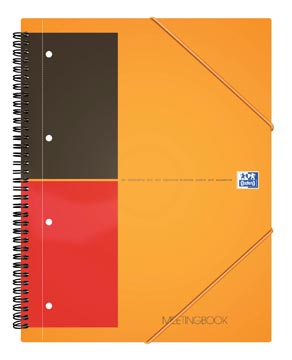 Oxford INTERNATIONAL Meetingbook, 160 pages, ft A5+, ligné