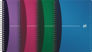 Oxford Office Urban Mix répertoire, 90 pages, ft A5, couleurs assorties