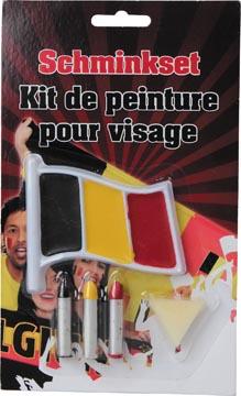Set de maquillage aux couleurs de la Belgique