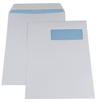 Gallery enveloppes, Ft 230 x 310 mm, bande adhésive, fenêtre à droite