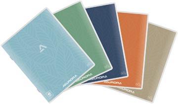 Aurora Writing 60 cahier de brouillon 200 pages, quadrillé 5 mm