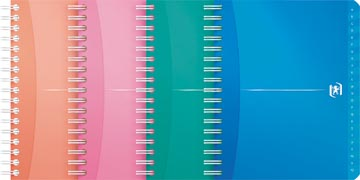 Oxford Office My Colours addressbook, 160 pages, ft 12 x 14,8 cm, couleurs assorties