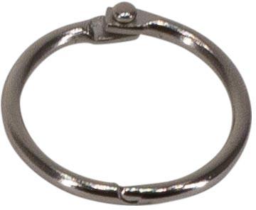 Bronyl anneaux brisés diamètre 25 mm, boîte de 100 pièces