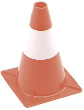 Perel cône de signalisation, hauteur 30 cm, rouge/blanc