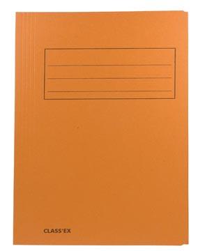 Class'ex chemise de classement, orange, ft 23,7 x 32 cm (pour ft A4)