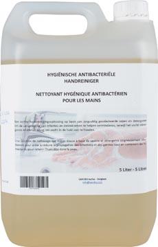Nettoyant hygiénique antibactérien pour les mains, bidon de 5 litres