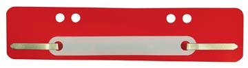 Fixe-dossiers, rouge, paquet de 25 pièces