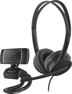 Trust Doba 2-in-1 Home Office Set avec webcam et micro-casque