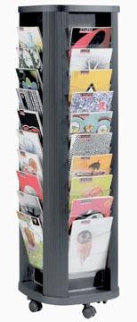 Paperflow Présentoir Mobile Carrousel