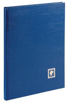 Pagna album de timbres, A4, 32 feuilles, bleu