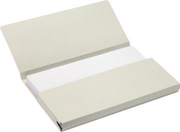 Jalema Secolor Pochette documents pour ft A4 (31 x 23 cm), gris