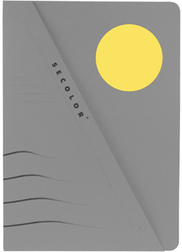Jalema pochette Secolor découpée jaune