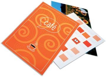 GBC Document pochette à plastifier ft A4, 250 micron (2 x 125 micron), paquet de 100 pièces