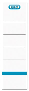 Elba étiquettes, ft 19x5,9 cm, blanc, 10 pcs
