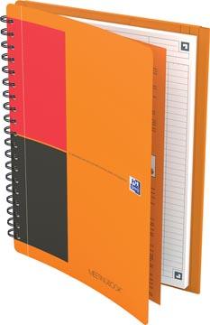 Oxford INTERNATIONAL meetingbook connect, couverture en carton orange, ft B5, ligné, 160 pages
