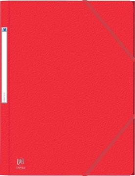 Elba Oxford Eurofolio farde à rabats, pour ft A4, rouge