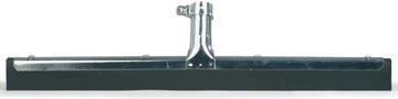 Raclette en métal, avec mousse noire 45 cm
