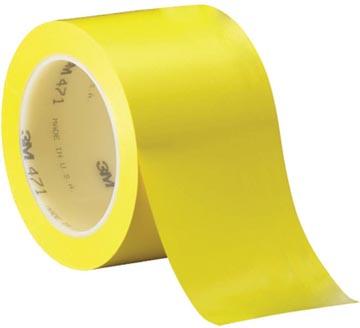 3M ruban adhésif en vinyl 471, ft 50 mm x 33 m, jaune