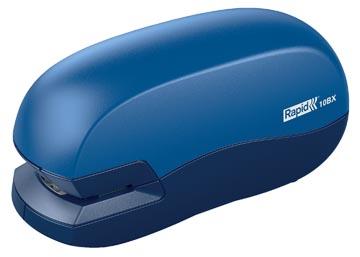 Rapid Agrafeuse électrique de bureau Fixativ 10BX bleu