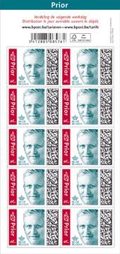 Bpost timbre national, roi Philippe, blister de 100, Prior