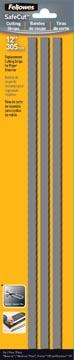 Fellowes SafeCut bandes de coupes ft A4, blister de 3 pièces