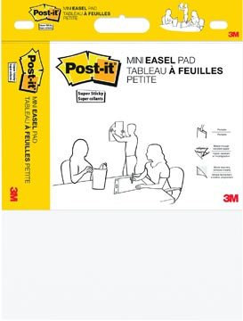 Post-it mini meeting chart, ft 45,7 cm x 38,1 cm, blanco