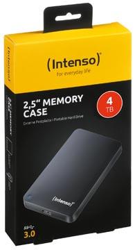Intenso Memory Case disque dur portable, 4 To, noir