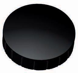 Maul aimant Solid, diamètre 32 mm x 8,5 mm, noir, boîte de 10 pièces