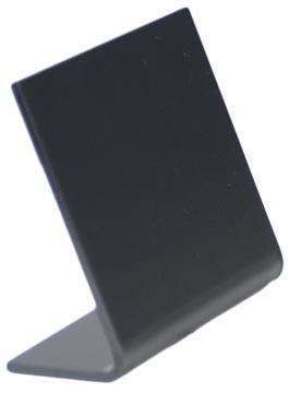 Securit ardoise de table L-forme ft A8, 5 pièces