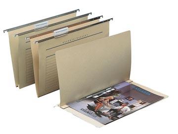 Alzicht by Jalema dossiers suspendus pour tiroirs, ft folio, fond en V