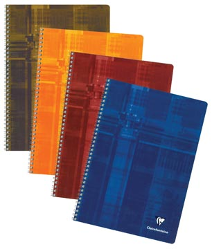 Clairefontaine cahier, ft A4, 100 pages, ligné, avec marge
