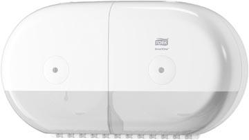 Tork SmartOne Mini Twin distributeur de papier toilette, système T9, blanc