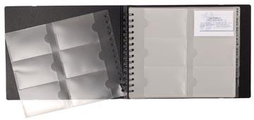Exacompta Porte-cartes de visite Exactive ft 20 x 25 cm, 240 pochettes