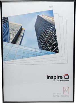 Inspire for Business cadre photo Easyloader, noir, ft A1