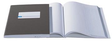 Atlanta by Jalema livre de caisse 2 x 2 colonnes, couleur: gris