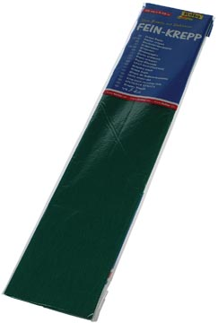 Folia papier crépon, vert mousse
