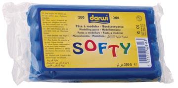 Darwi pâte à modeler Softy, bleu