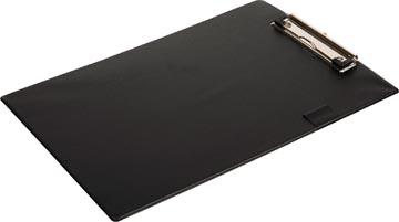 Pergamy plaque à pince, pour ft A4, en PVC, noir