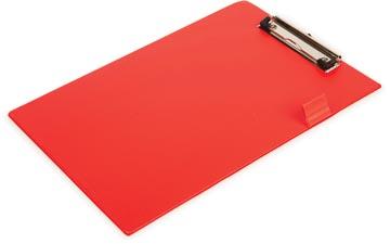 Pergamy plaque à pince, pour ft A4, en PVC, rouge