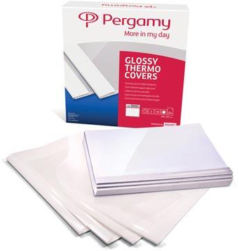 Pergamy couvertures thermiques ft A4, 1,5 mm, paquet de 100 pièces, blanc