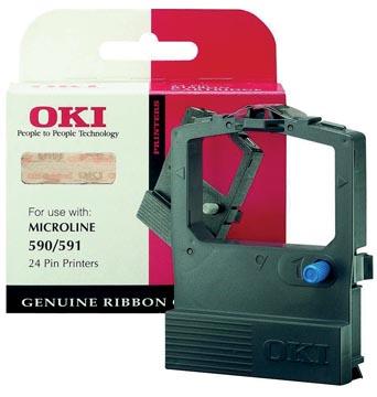 Oki Ruban nylon noir - 9002316