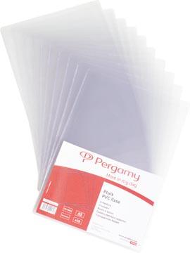 Pergamy sachet de 10 étuis 15X21cm en PVC 15/100e