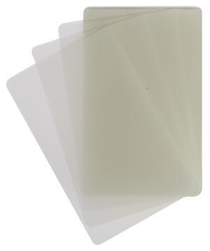 STAR pochette à plastifier ft 54 x 86 mm, 100 microns (2 x 50 microns), paquet de 100 pièces
