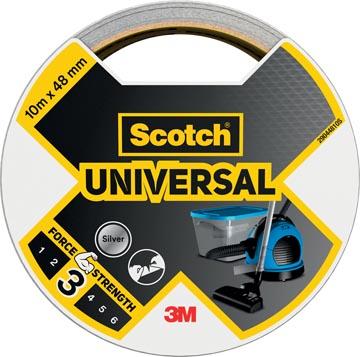 Scotch ruban de réparation Universal, ft 48 mm x 10 m, argent