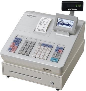 Sharp caisse enregistreuse thermique XE-A177WH, blanc