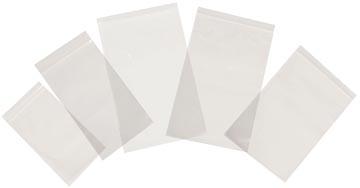 Tenza sachets transparents, ft 37 x 62 mm, paquet de 100 pièces