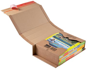 Colompac boîte d'expédition CP020, ft 30,8 x 21,5 x 8 cm, brun