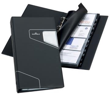 Durable Porte-cartes de visite Visifix Pro ft 145 x 255 mm, pour 200 cartes de visite