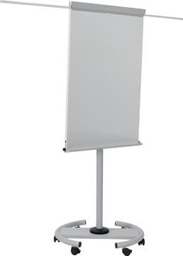 Bi-Office tableau de conférence mobile gris